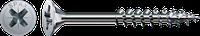 Саморез SPAX с покр. WIROX 4,0х60, частичная резьба, потай, PZ2, 4CUT, упак. 500 шт., пр-во Германия