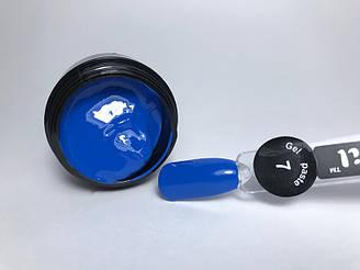 Гель паста для нігтів City Nail 7 синя