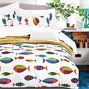 Комплект постельного белья подростковый ранфорс 20110 ТМ Вилюта