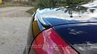 Лип спойлер(Сабля) на Fiat Punto Evo (2009-2012)  , фото 2