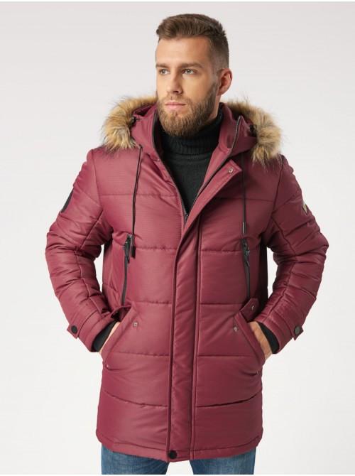 Зимняя мужская куртка B5 Burgundy