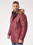 Зимняя мужская куртка B5 Burgundy, фото 3