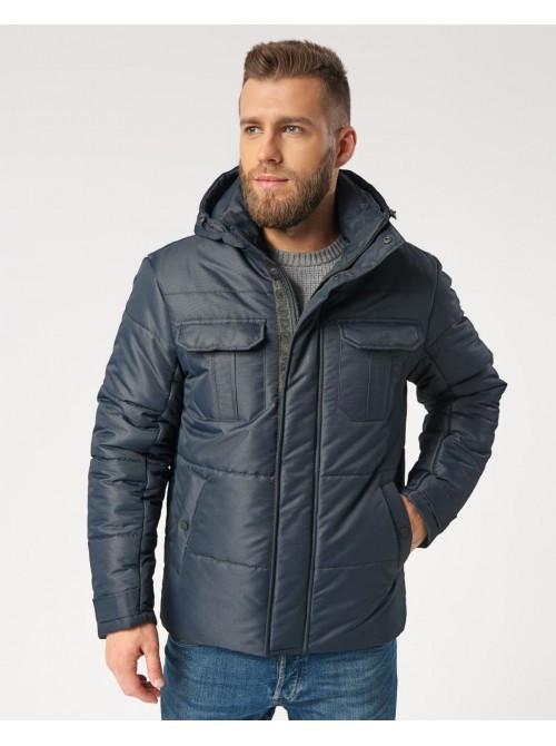 Зимняя мужская куртка B4 Blue 52