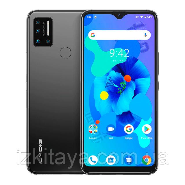 "Смартфон Umidigi A7 4/64Gb gray 6,49"""