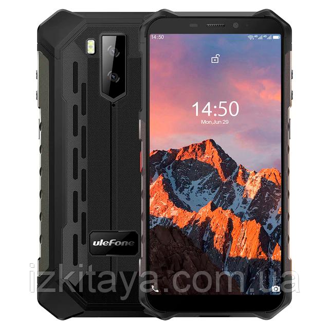 Защищенный смартфон UleFone Armor X5 Pro black 4/64