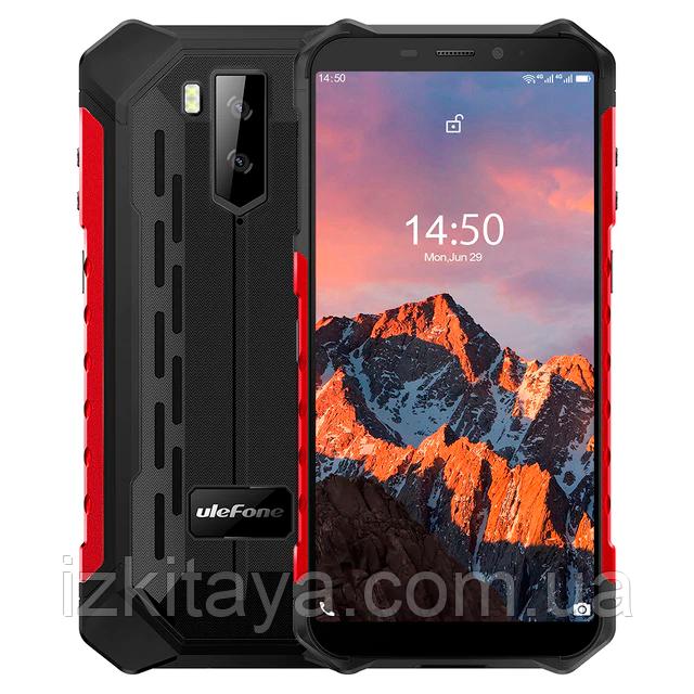 Защищенный смартфон UleFone Armor X5 Pro red 4/64