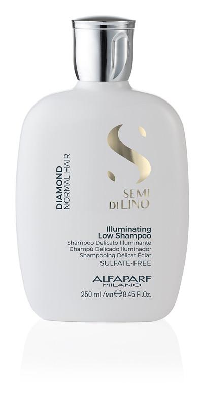 Шампунь Alfaparf Diamond Semi di lino для блиску волосся 250 мл