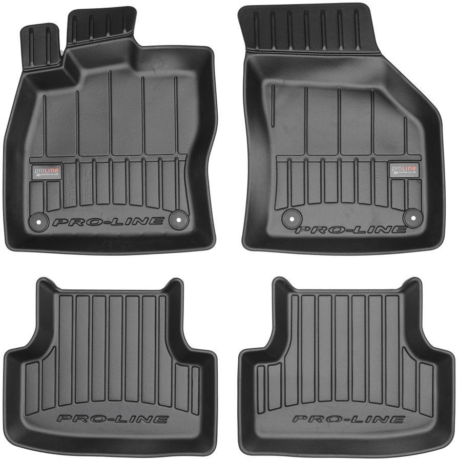 Коврики в салон VW Golf VII, Golf Alltrack VII, Golf GTI VII 2012- Frogum Pro-Line 3D407060