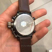 Оригінальні Чоловічі Наручні годинники AMST 3003 Black-Brown Wristband, фото 3