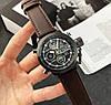 Оригінальні Чоловічі Наручні годинники AMST 3003 Black-Brown Wristband, фото 5
