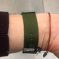 Оригинальные мужские часы AMST 3003 Silver-Black Green Wristband, фото 3