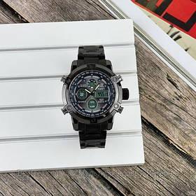 Оригінальні наручні чоловічі годинники AMST 3022 Metall All Black