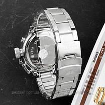 Оригинальные мужские часы стальной ремешок AMST 3003 All Silver Metall, фото 3