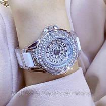 Женские часы кварцевые оригинал Bee Sister 1490 Silver-White Diamonds, фото 2