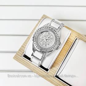 Жіночі годинники кварцові оригінал Bee Sister 1490 Silver-White Diamonds