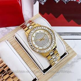 Жіночі годинники кварцові оригінал Bee Sister 0629 All Gold