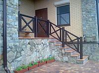 Ограждение террасы и балкона. Цена с установкой.