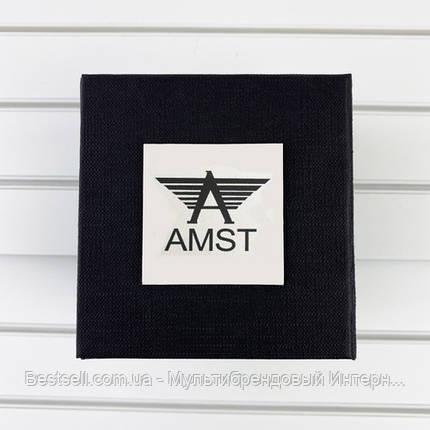 Подарочная Коробочка для часов с логотипом AMST Black, фото 2