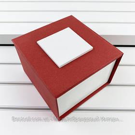 Подарочная Коробочка для часов без логотипа (красная) с подушкой
