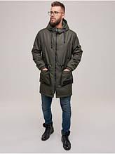 Мужская куртка демисезонная D-01  Khaki
