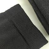 Махровые мужские носки высокие Capitano 27р черные Червоноград, фото 2