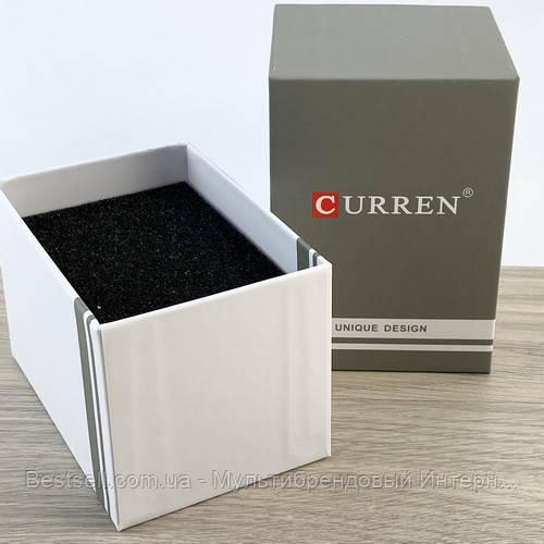 Подарункова Коробочка для годинника з логотипом Curren Gray-White