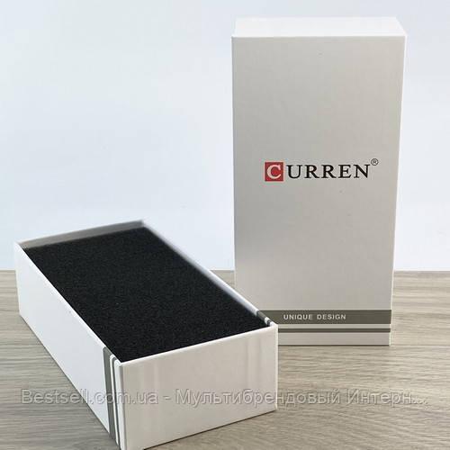 Подарункова Коробочка для годинника з логотипом Curren Long White