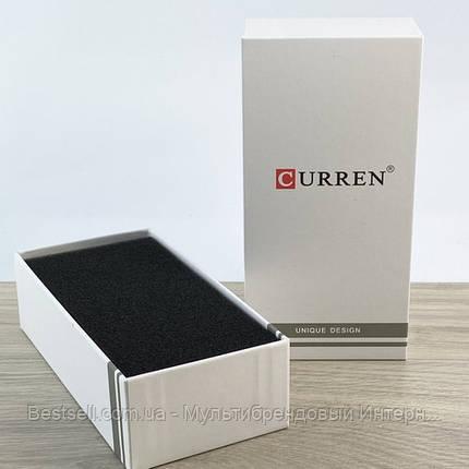 Подарункова Коробочка для годинника з логотипом Curren Long White, фото 2