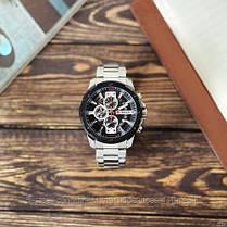 Оригинальные мужские часы стальной ремешок Curren 8336 Silver-Black / Часы Курен, фото 2
