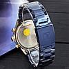 Оригінальні чоловічі годинники сталевий ремінець Curren 8355 Blue-Cuprum / Годинник паління від різних фірм., фото 2