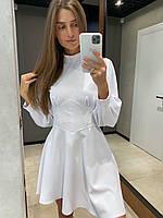 Платье женское нарядное чёрный, белый 42-44,44-46,46-48,48-50