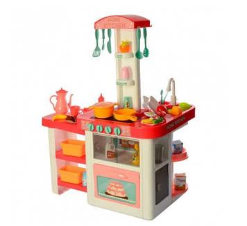 Кухня на бат-ці,звук,світ.,55предметів,посуд,у кор-ці,65х44х19см №889-63-64(6)