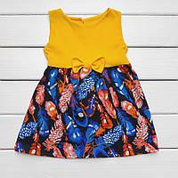Платье детское Лето Кулир