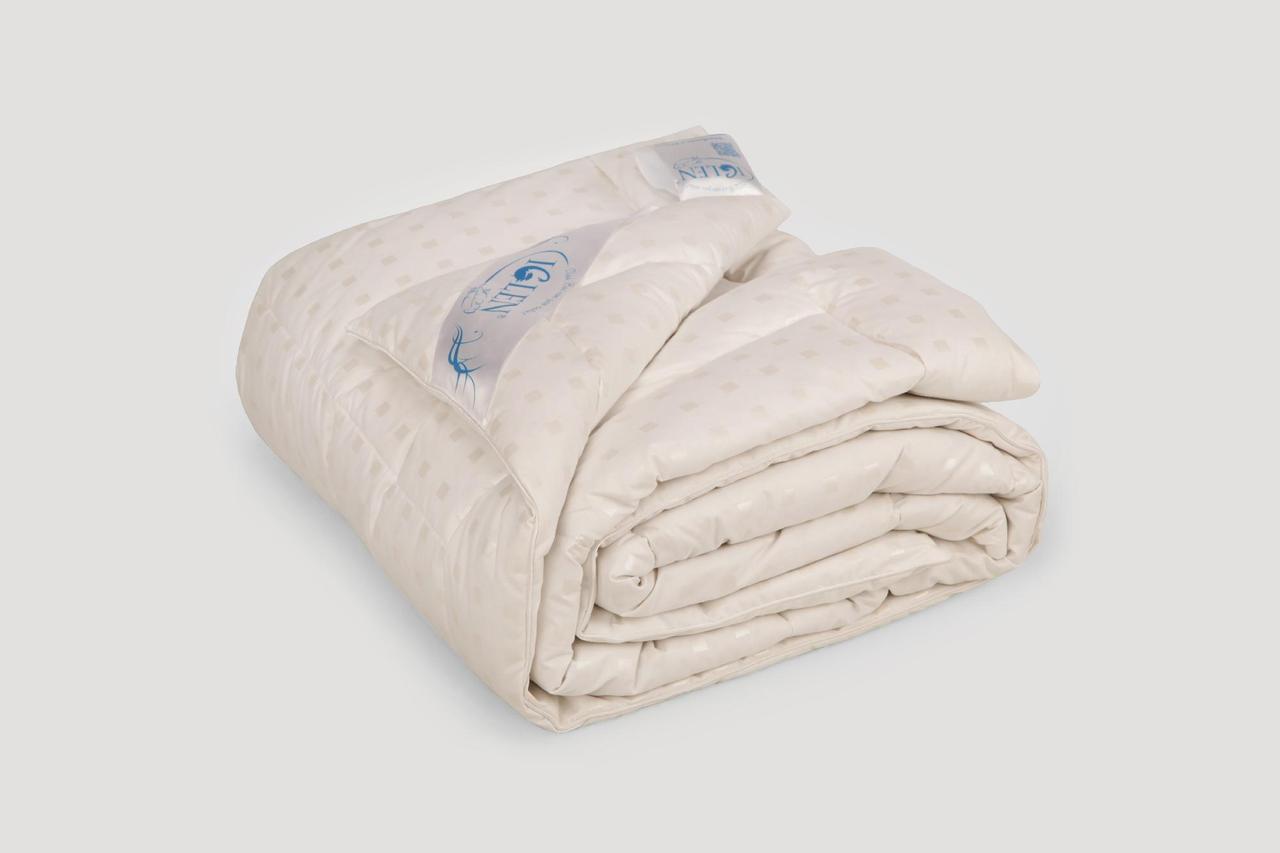 Одеяло IGLEN стеганое 70% пух и 30% мелкое перо  Зимнее 140х205 см Светло-розовый (1402052с)