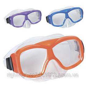 BW Маска 22039 (12шт) для плавания, 3 цвета