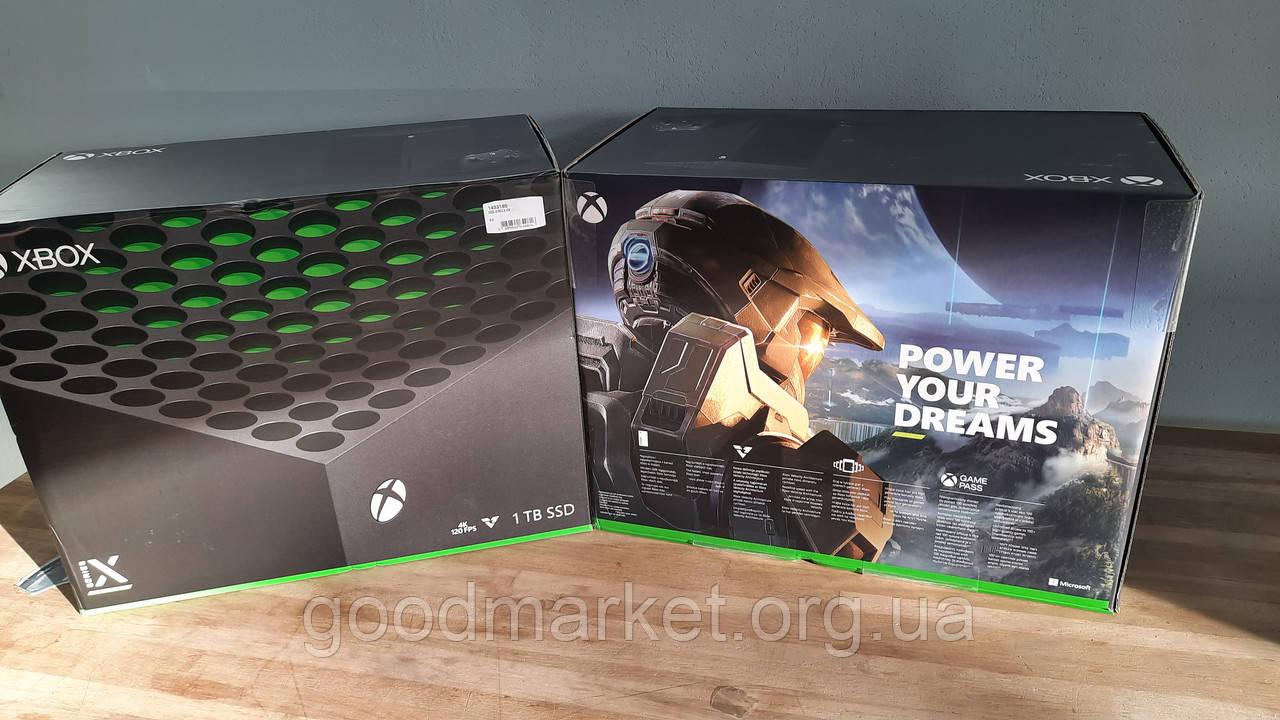 Стаціонарна ігрова приставка Microsoft Xbox Series X 1TB  В НАЯВНОСТІ