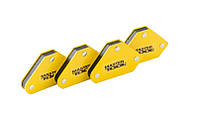 Набор магнитов для сварки 4 кг, 45°/90°/135° MASTER TOOL 81-0204