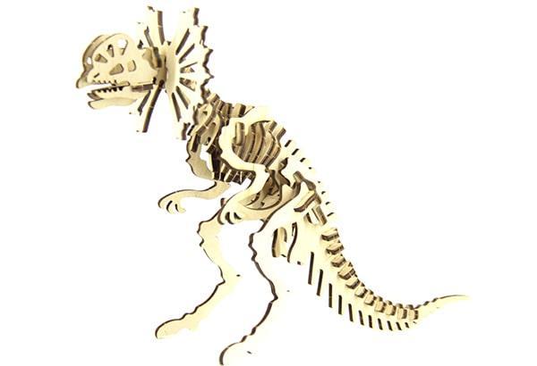 Конструктор динозавр Дилофозавр 41 деталь