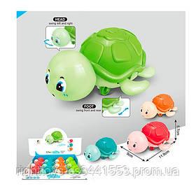 Игрушка 6673-1 (240шт) черепаха, 12см,ездит, 12шт(4цвета) в дисплее, 34-6,5-39см