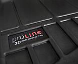 Коврики в салон Toyota Yaris III (не підходить для гібридів)  2011-2019 Frogum Pro-Line 3D407749, фото 4