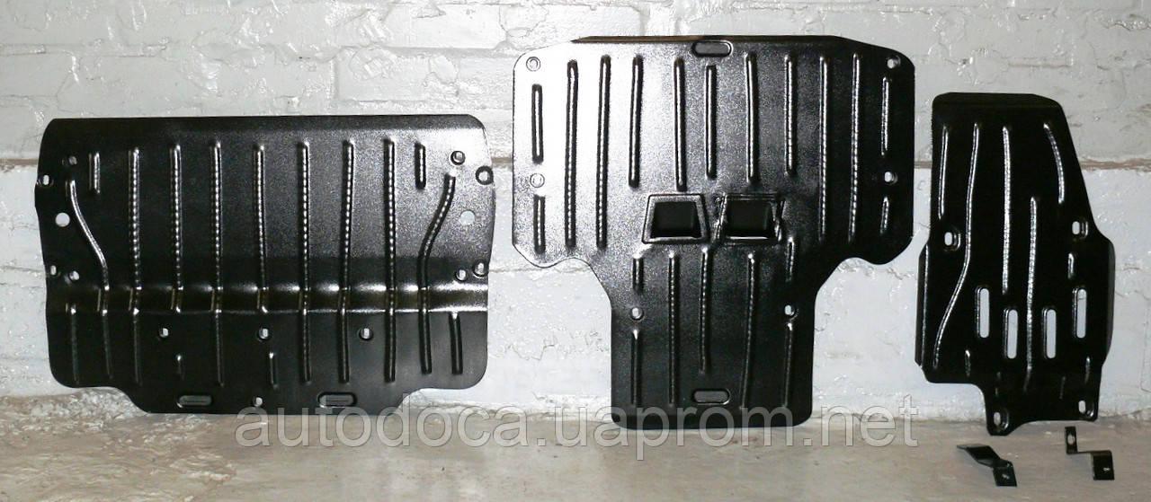 Защита картера двигателя, акпп, диф-ла Audi A6 (C7) Quattro 2010-