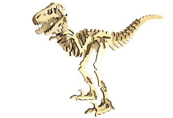 Конструктор динозавр Велоцираптор 40 деталей