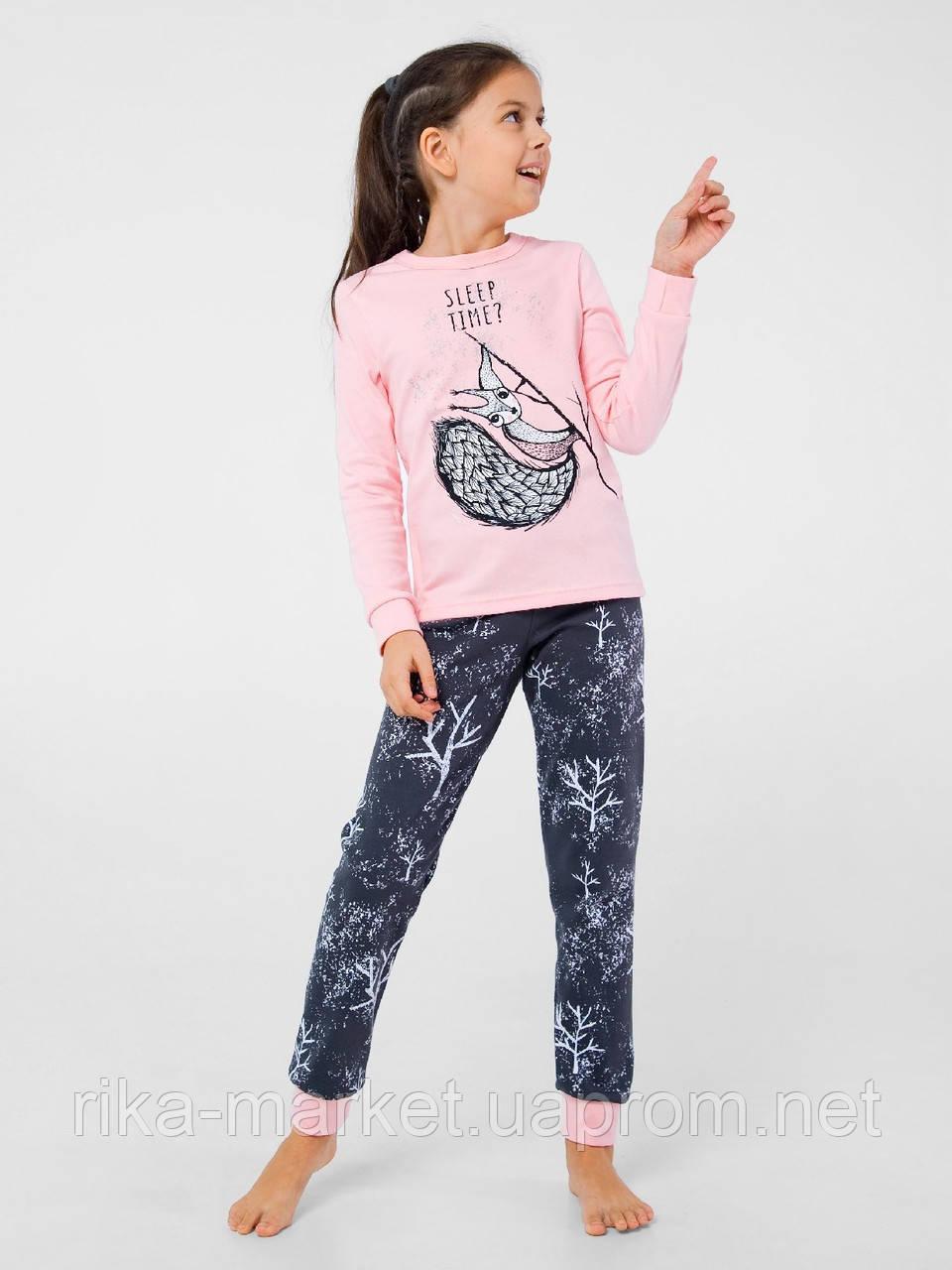 Пижама  для девочки ТМ Смил, арт.104498/104668, 7-14 лет