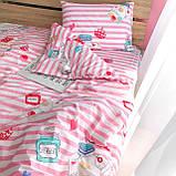 Комплект постельного белья подростковый ранфорс 20115 ТМ Вилюта, фото 3