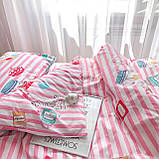Комплект постельного белья подростковый ранфорс 20115 ТМ Вилюта, фото 4