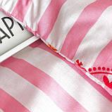 Комплект постельного белья подростковый ранфорс 20115 ТМ Вилюта, фото 5