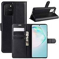 Чехол-книжка Litchie Wallet для Samsung G770 Galaxy S10 Lite Black