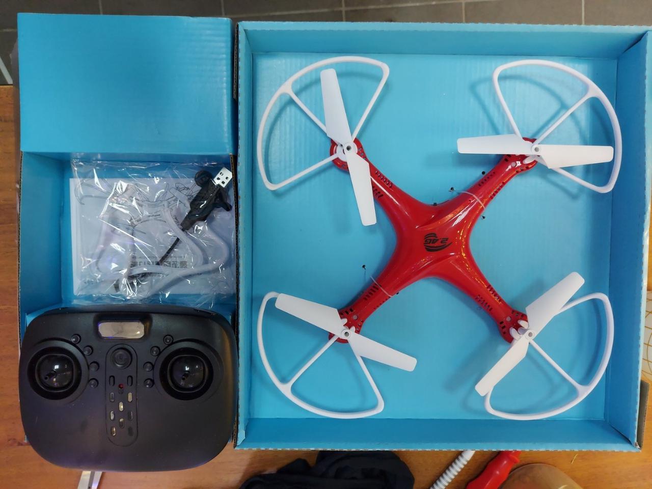 Квадрокоптер с пультом управления Drone 6 AXIS GYRO с Wi-Fi 2.4GHz. Без камеры