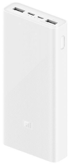 Портативна батарея Xiaomi 20 000mAh v3 (White) PLM18ZM