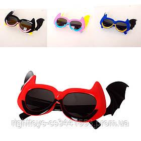Очки SG23065-3 (360шт) солнцезащитные, 13см, 4 цвета, в кульке
